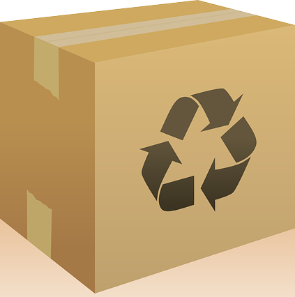 ebay 101 Box with Recycle Symbol