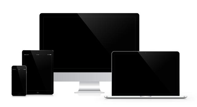 Website Design SEO Social Media - Various Screen Sizes