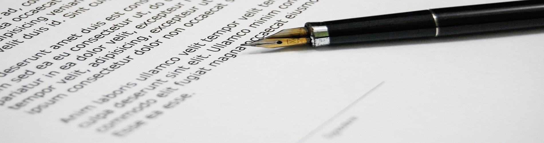 Contract & Dip Pen